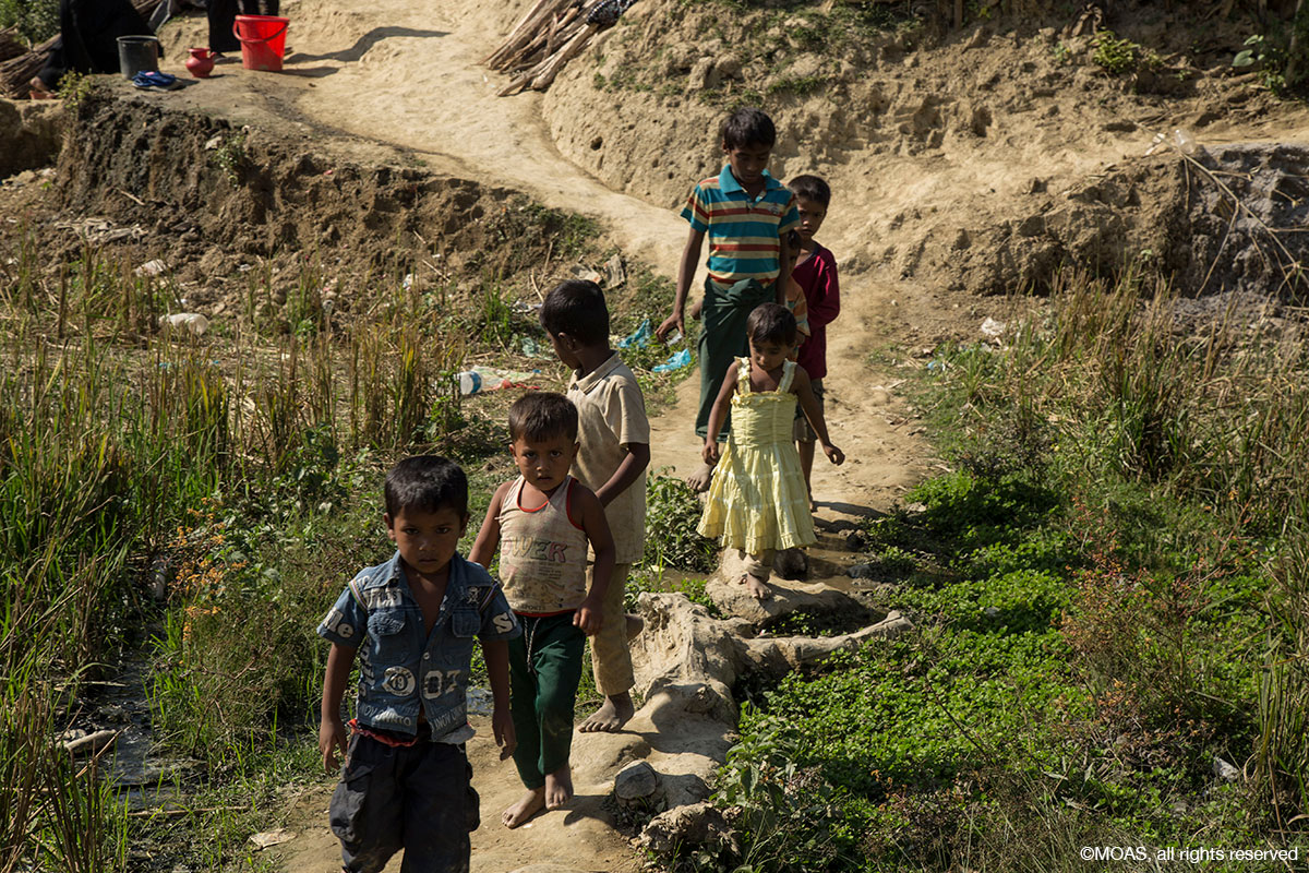 Monsoon season spells trouble for Rohingya refugees