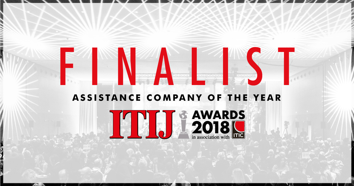 Finalist for the 2018 Assistance Company of the Year Award